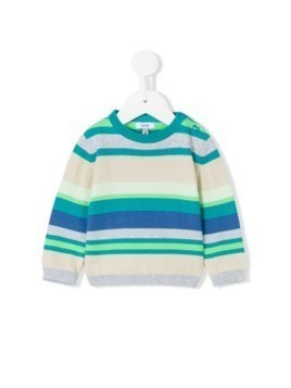 Knot sea striped sweater - Blue