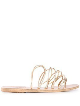Ancient Greek Sandals Rodopi strappy sandals - Gold