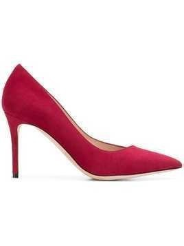 Giorgio Armani pointed toe pumps - Red