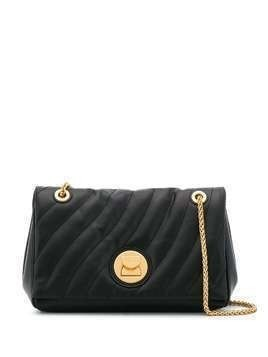 Coccinelle quilted crossbody bag - Black