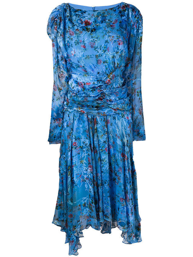 Preen By Thornton Bregazzi Kelsey dress - Blue