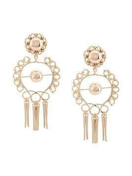 Dannijo Ash earrings - Yellow