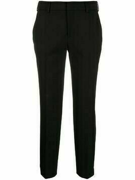 Pt01 slim-fit trousers - Black