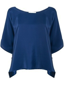 Jean Paul Knott loose fit blouse - Blue