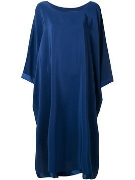Jean Paul Knott loose fit maxi dress - Blue