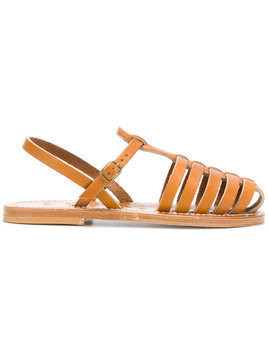 K. Jacques cage sandals - Brown