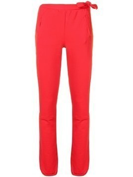 Humanoid track trousers - Red