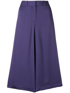 Theory a-lyne mid skirt - Pink & Purple