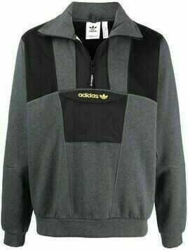 adidas embroidered logo jumper - Grey