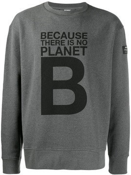 Ecoalf 'Planet B' print sweatshirt - Grey