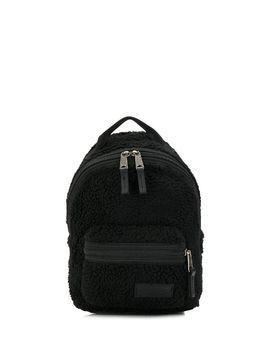 Eastpak faux shearling backpack - Black