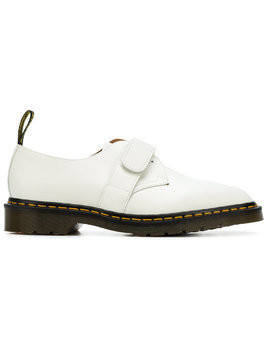 Engineered Garments x Dr Martens touch strap derby shoes - White