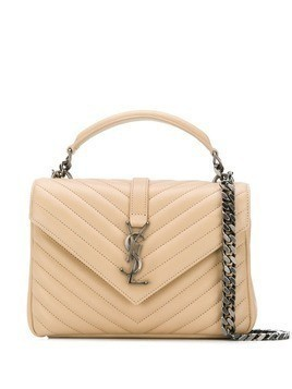 Saint Laurent medium Collège shoulder bag - Neutrals