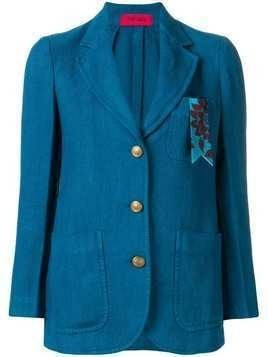 The Gigi fitted jacket - Blue