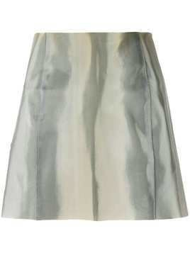 Giorgio Armani Pre-Owned fitted mini skirt - Grey