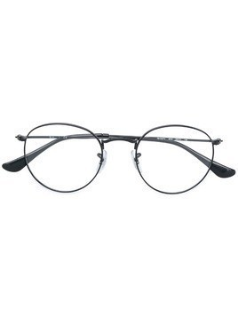 Ray-Ban round metal eyeglasses - Black