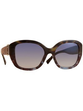Burberry Buckle Detail Oversize Square Frame Sunglasses - Green
