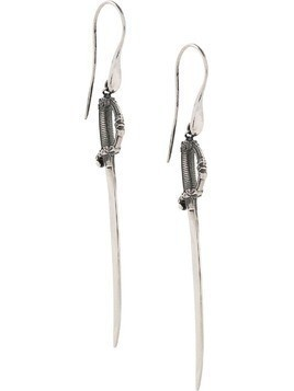Ugo Cacciatori small saber earrings - SILVER
