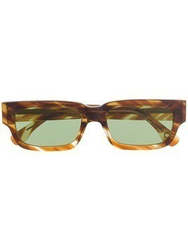 Retrosuperfuture Roma angular sunglasses - Brown
