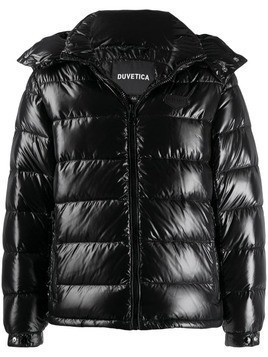 Duvetica hooded padded jacket - Black