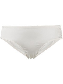 Dolce & Gabbana embroidered logo briefs - White