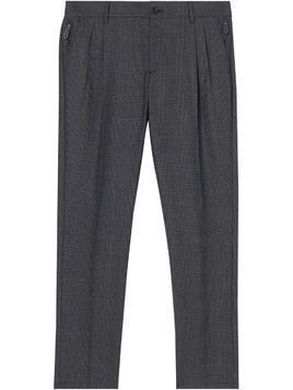 Burberry Prince of Wales check trousers - Grey
