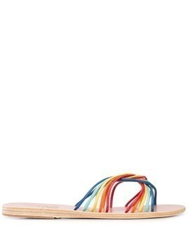 Ancient Greek Sandals Xanthi flat strappy sandals - Multicolour