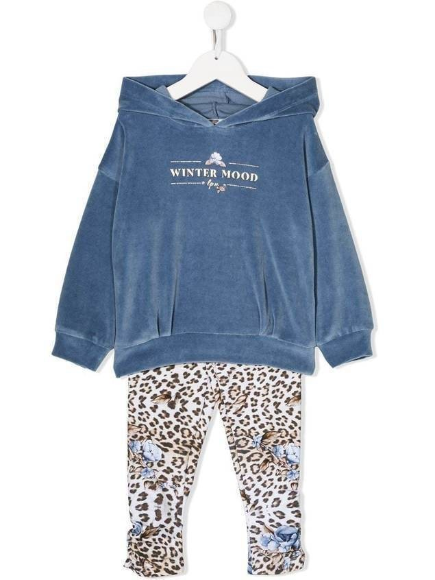 Lapin House hoodie and trousers sets - Blue