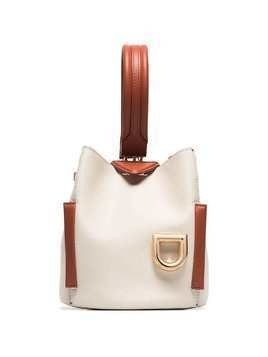Danse Lente white Josh leather shoulder bag
