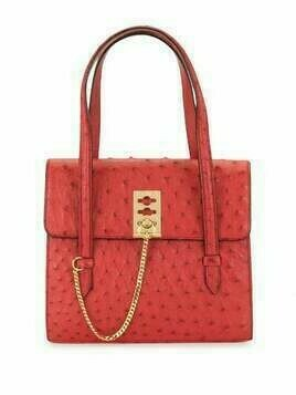 Céline Pre-Owned pre-owned logo plaque tote bag - Red
