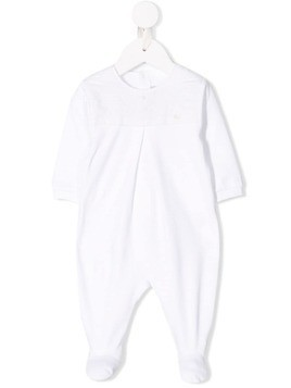 Baby Dior quilted pyjama body - White