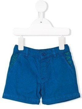 Kenzo Kids pocket logo shorts - Blue