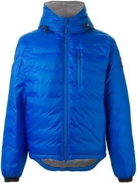 Canada Goose hooded padded jacket - Blue