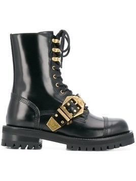 Versace lace-up boots - Black