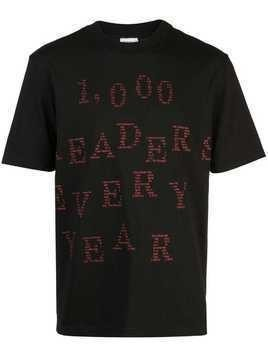 Bethany Williams 1000 readers T-shirt - Black