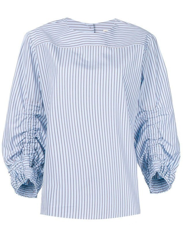 Odeeh striped blouse - Blue