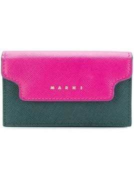 Marni trunk wallet - Green