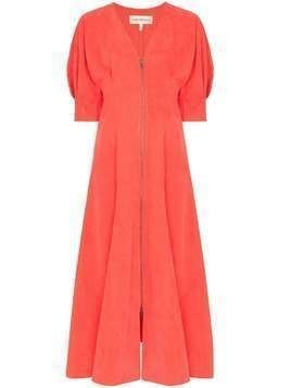 Mara Hoffman Sophie puff-sleeve dress - Red