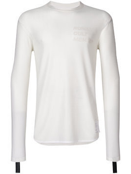 Satisfy Mesh Long T-shirt - White