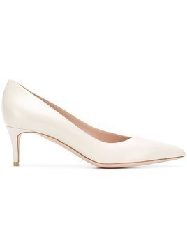 Giorgio Armani pointed toe pumps - Nude & Neutrals