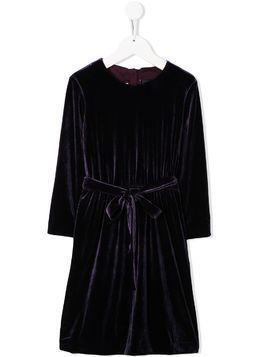 Caffe' D'orzo Mia velvet dress - PURPLE