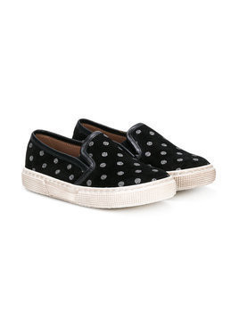 Pèpè polka dots slippers - Black