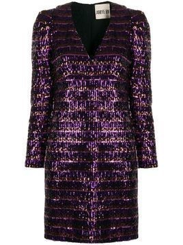 Aniye By Debra sequinned mini dress - PURPLE