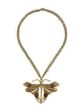A.N.G.E.L.O. Vintage Cult 1970s butterfly necklace - GOLD