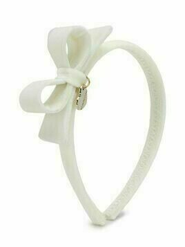 Monnalisa bow detail hairband - White