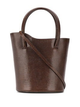 Little Liffner textured bucket bag - Brown