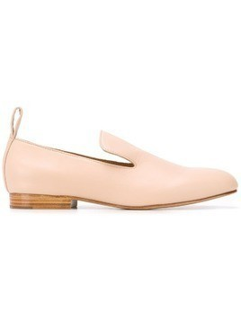 Jil Sander Navy slip-on loafers - Pink