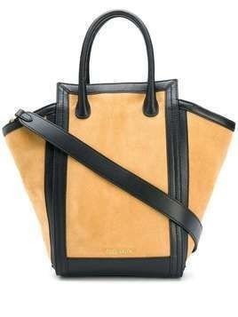 Coccinelle Madelaine suede tote - Brown