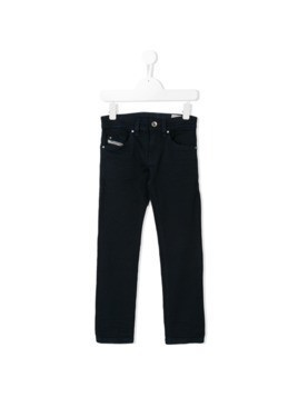 Diesel Kids straight leg jeans - Blue