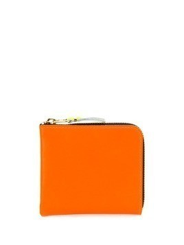 Comme Des Garçons Wallet Super Fluo zip-around wallet - ORANGE